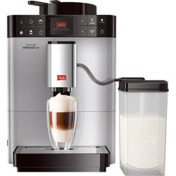 Melitta Caffeo Solo and Milk Argent