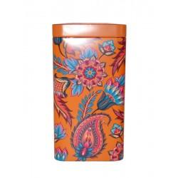 Boîte Orange Fleurie