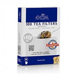 Boîte de 100 filtres à  thé pour mug